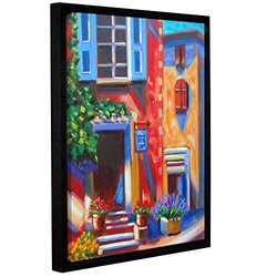 Susi Franco's Cafe Tino Gallery Wrapped Floater-Framed Canvas 18x24""