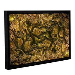 Cora Niele's Acer Palmatum Ornatum Gallery Floater Framed Canvas - 16x24""