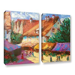 """ArtWall Susi Franco's 2 Piece Gallery Wrapped Canvas Set - 24"""" X 32"""""""