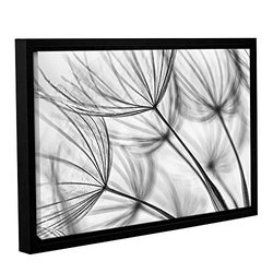 """Cora Niele's Parachute Seed I Gallery Floater Framed Canvas - 16x24"""""""