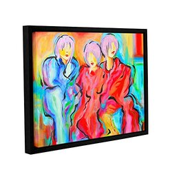 "ArtWall 18""x24"" Susi Franco's The Consensus Gallery Wrapped Framed Canvas"