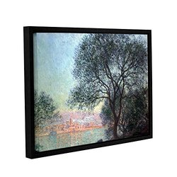 """ArtWall Claude Monet's Antibes Gallery Wrapped Floater Framed Canvas - 14 x 18"""""""