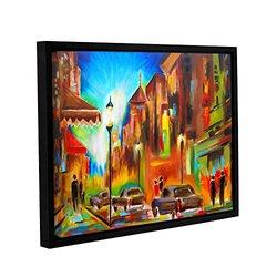 "ArtWall 18""x24"" Susi Franco's Twilight in Treviso Framed Canvas"