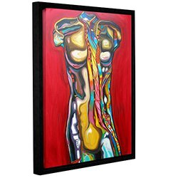 Susi Franco's 92 Percent Water Gallery Floater-Framed Canvas - 18x24""