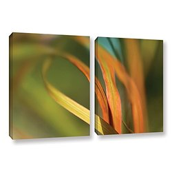 18in H X 28in W Autumn Grass by Cora Niele - 2 Pieces