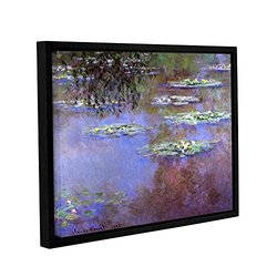 "ArtWall Claude Monet's Sea Roses Ii Gallery Framed Canvas - 14"" X 18"""