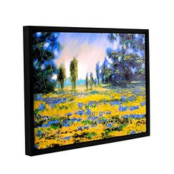 """Susi Franco's Sea of Butter Gallery Floater-Framed Canvas - 18x24"""""""