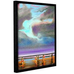 Susi Franco's Oregon Razor Clammers Gallery Floater-Framed Canvas 18x24""