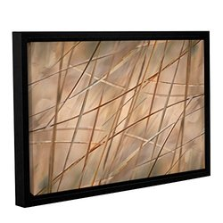 Cora Niele's Deschampsia Gallery Wrapped Floater Framed Canvas - 16x24""