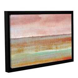 Cora Niele's Landscape Autumn Gallery Floater Framed Canvas - 16x24""