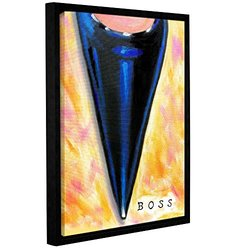 """ArtWall Susi Franco's Boss Gallery Wrapped Floater-Framed Canvas - 14""""X18"""""""