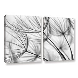 """ArtWall Cora Niele's Parachute Seed I Gallery Wrapped Canvas Set - 24""""X36"""""""