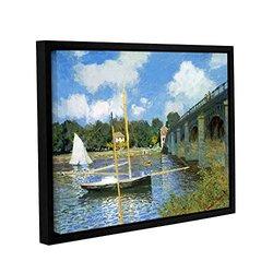 "ArtWall Claude Monet's The Bridge of Argenteuil Framed Canvas - 18x24"""