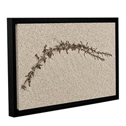 """Cora Niele's Beach Find II Gallery Wrapped Floater Framed Canvas - 16x24"""""""