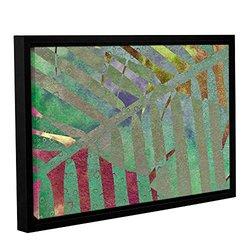 "ArtWall 16""x24"" Cora Niele's Leaf Shades II Gallery Wrapped Framed Canvas"