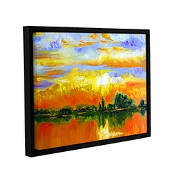 Susi Franco The Zen of Italy Gallery Wrapped Floater-Framed Canvas 14x18""