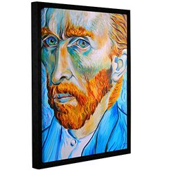 Susi Franco's Vincent Van Gogh Gallery Floater-Framed Canvas - 18x24""