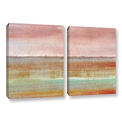 18in H X 28in W Landscape Autumn by Cora Niele - 2 Pieces