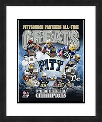 """NCAA Pittsburgh Panthers 'All Time Greats' 18"""" x 22"""" Sports Photograph"""