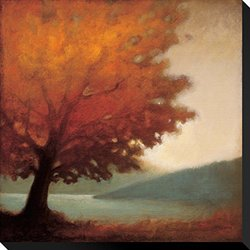 "Art.com Solitude by Edward Raymes Stretched Canvas Print - 22""X22"""