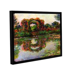 "ArtWall Claude Monet's ""Foliage Trestle"" Framed Canvas - 18"" x 24"""
