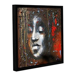 "ArtWall Susi Franco's Last Thoughts Gallery Wrapped Floater-Framed Canvas - 18"" X 18"""