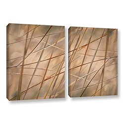 "ArtWall Cora Niele's Deschampsia Canvas Set - 24""x36"" - 2 Piece"