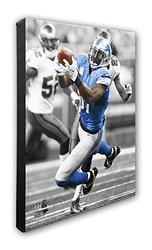 "NFL Detroit Lions Calvin Johnson Beautiful Gallery Canvas - 16"" x 20"""