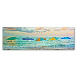 "Trademark Fine Art Preston ""Florida Party of Five"" - 16"" x 47"""