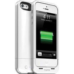 Mophie Juice Pack Air Charging Case for iPhone 5 - White