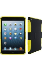 Roocase Extreme Hybrid Silicone Shell Case for Ipad Mini - Yellow/Black