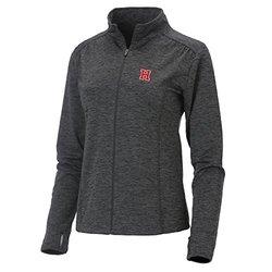 Women's NCAA Harvard Crimson Swerve Full Zip Jacket - Charcoal - Size: L