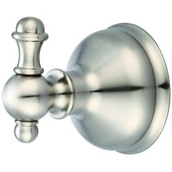 Pioneer Faucets Americana Collection 185850-BN Robe Hook, PVD Brushed Nickel