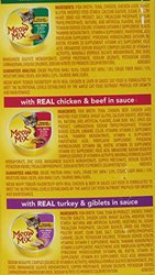Meow Mix Pack of 4 Variety Poultry & Beef Wet Cat Food Pack - 2.75 oz