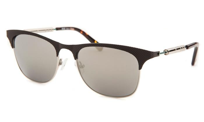 7416ce8081 ... Kenzo Unisex Square Black and Silver Tone Sunglasses Frame - Black ...