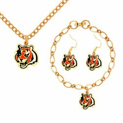 NFL Cincinnati Bengals Jewelry Set