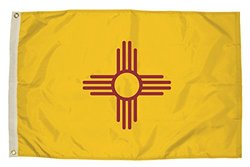Independence Flag Nylon New Mexico Flag - 3 x 5'