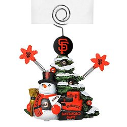 "MLB San Francisco Giants Tree Photo Holder, Green, 5"" Tall"