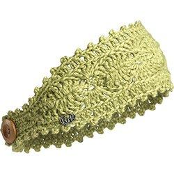 FU-R Headwear Women's Lacey Lightweight Crocheted Headband, Lime, One Size