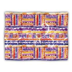 """Kess InHouse Louise Machado """"Tribal"""" Fleece Blanket, 60 by 50-Inch"""