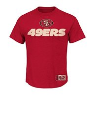 VF LSG NFL San Francisco 49ers Men's T-Shirt - C Heather - Size: XXL