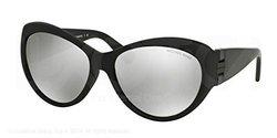 Michael Kors Waikiki Sunglasses - Black Silver Mirror