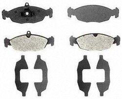Raybestos PGD688M Professional Grade Semi-Metallic Disc Brake Pad Set