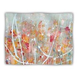 "Kess InHouse Iris Lehnhardt ""Joy Splatter Paint"" Blanket, 60 by 50-Inch"