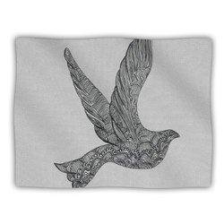 "Kess InHouse Belinda Gillies ""Dove"" Blanket, 60 by 50-Inch"