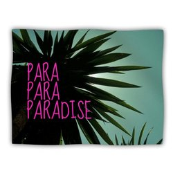 "Kess InHouse Nika Martinez ""Exotic Paradise"" Fleece Blanket, 60 by 50-Inch"