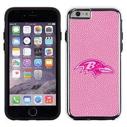 NFL Baltimore Ravens Football Pebble No Wordmark iPhone 6 Case - Pink