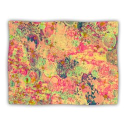 """Kess InHouse Ebi Emporium """"Time for Bubbly"""" Blanket, 60 by 50-Inch"""