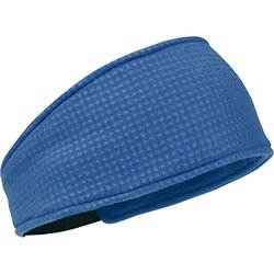 Turtle Fur Double-Layer Midweight Polartec Thermal Pro Grid Headband - Blue - One Size