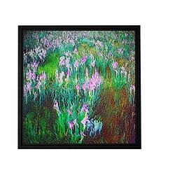 ArtWall Dean Uhlinger 'In Dream Meadow' Floater Framed Gallery-Wrapped Canvas Art, 14 by 14, Holds 12.5 by 12.5-Inch Image